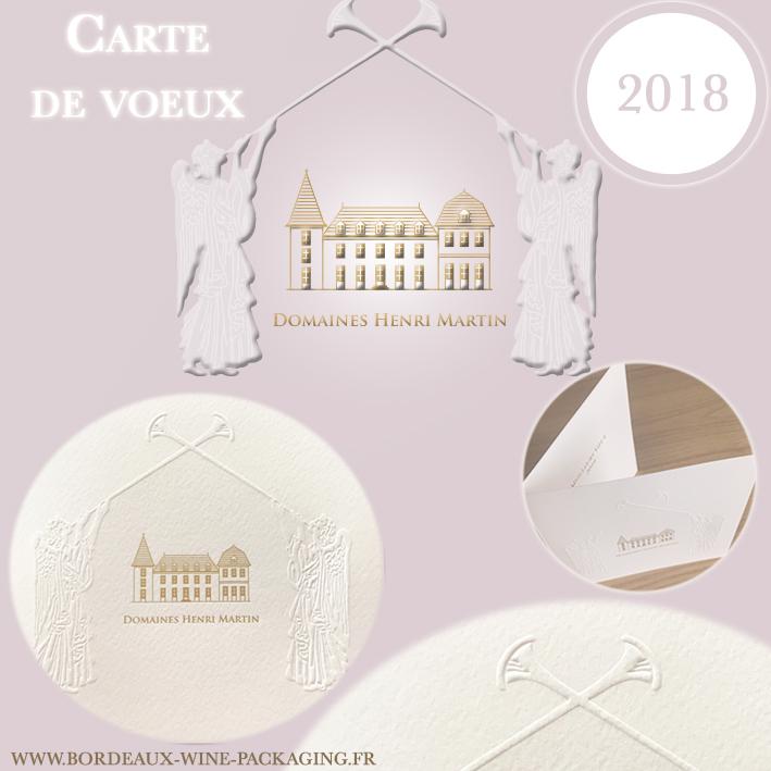 Carte de voeux 2018 - Domaines Henri Martin